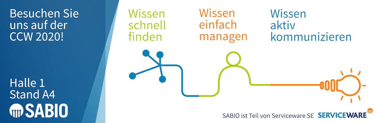 SABIO Serviceware Knowledge CCW 2020